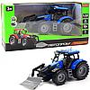 Машинка игровая автопром «Трактор» Синий-3, 20 см (7924AB)
