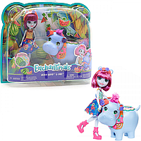 Кукла Энчантималс nchantimals Большие друзья Бегемотик Хедда и Лейк (FKY72)