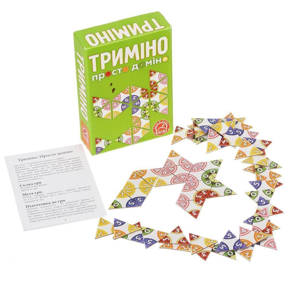 """[911081] Просто доміно """"Триміно"""" 59114"""