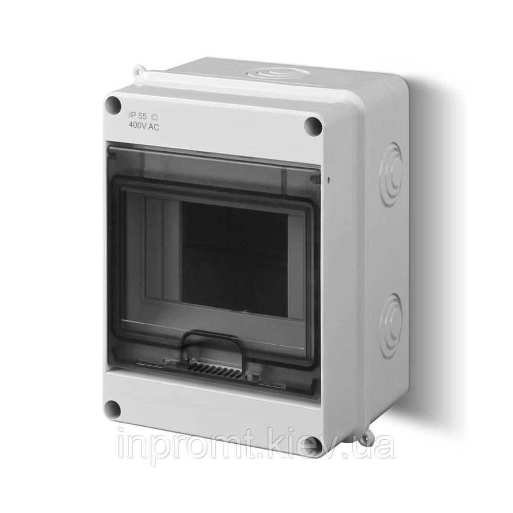 Корпус 5 модулей с окном  EP-LUX PLUS RN 1/5 IP 40 N+PE
