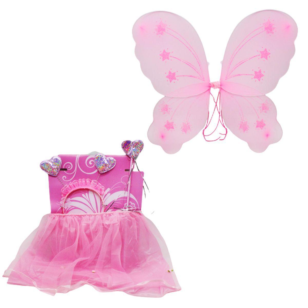 """Карнавальный костюм """"Бабочка"""", розовый 6098-2_HD-21"""