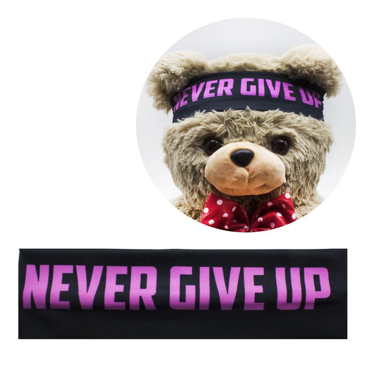 """Повязка """"Never Give Up"""" POV1"""