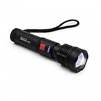 Мощный фонарик аккумуляторный X-Balog BL-X72-P90, светодиодный фонарь с зарядкой от usb | потужний ліхтарик
