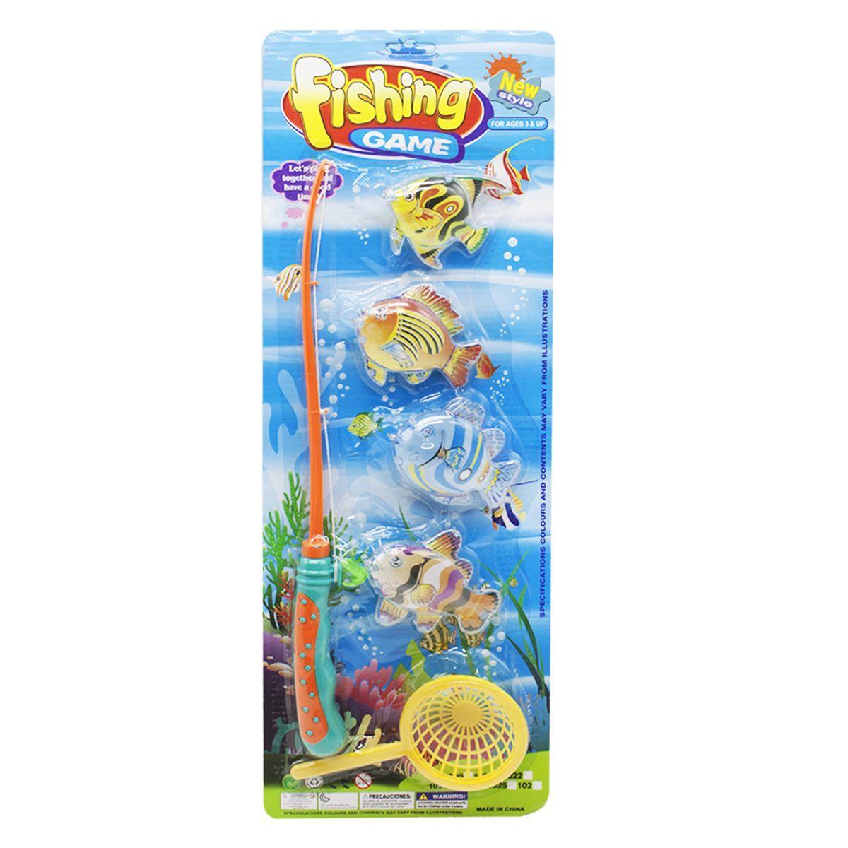 """Игровой набор """"Рыбалка магнитная"""" 1021А"""