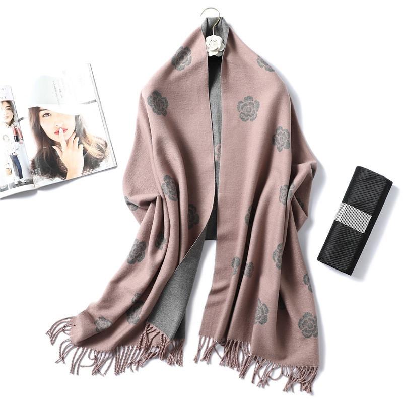 Большой женский шарф 200*65 | Осень Зима