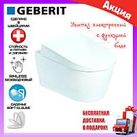 Подвесной унитаз с функцией биде Geberit AquaClean Sela 146.145.11.1 сиденье soft-close