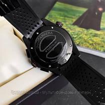 Часы мужские наручные  Tag Heuer Grand Carrera Calibre 36 RS Caliper Rubber All Black / реплика ААА класса /, фото 3