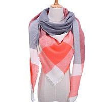Платок шарф на шею женский 12 цветов P-14