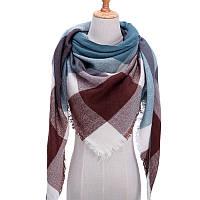 Платок шарф на шею женский 12 цветов P-15