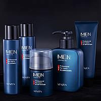 Подарочный набор мужской косметики для ухода Venzen Men 5 в 1 с контролем жирности кожи лица Оригинал