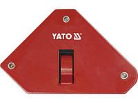 Сварочный магнитный угольник 13,5кг с выключателем Yato YT-0868