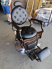 Парикмахерское barber кресло Vintage, фото 2