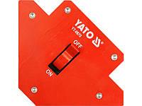 Отключаемый магнитный угольник для сварки 13,5 кг Yato YT-0870