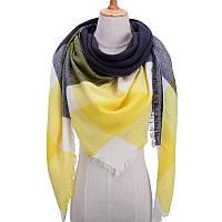Платок шарф на шею женский 12 цветов P-16