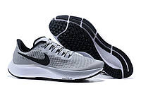 Кроссовки Nike Air Zoom Pegasus 37 Turbo Wolf Grey Black White Men's Running Shoes серые мужские