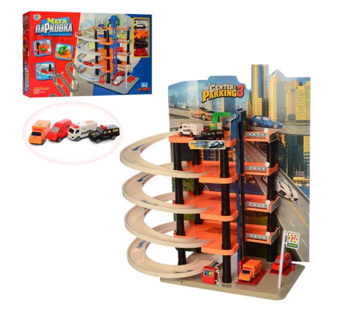 Игрушечная Мега парковка Limo toy 0848