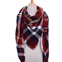 Платок шарф на шею женский 12 цветов P-17