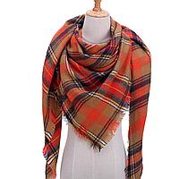 Платок шарф на шею женский 12 цветов P-19