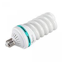 Флуоресцентна лампа Fotobestway 150 Вт, цоколь E27, 5500 K лампа для студійного світла