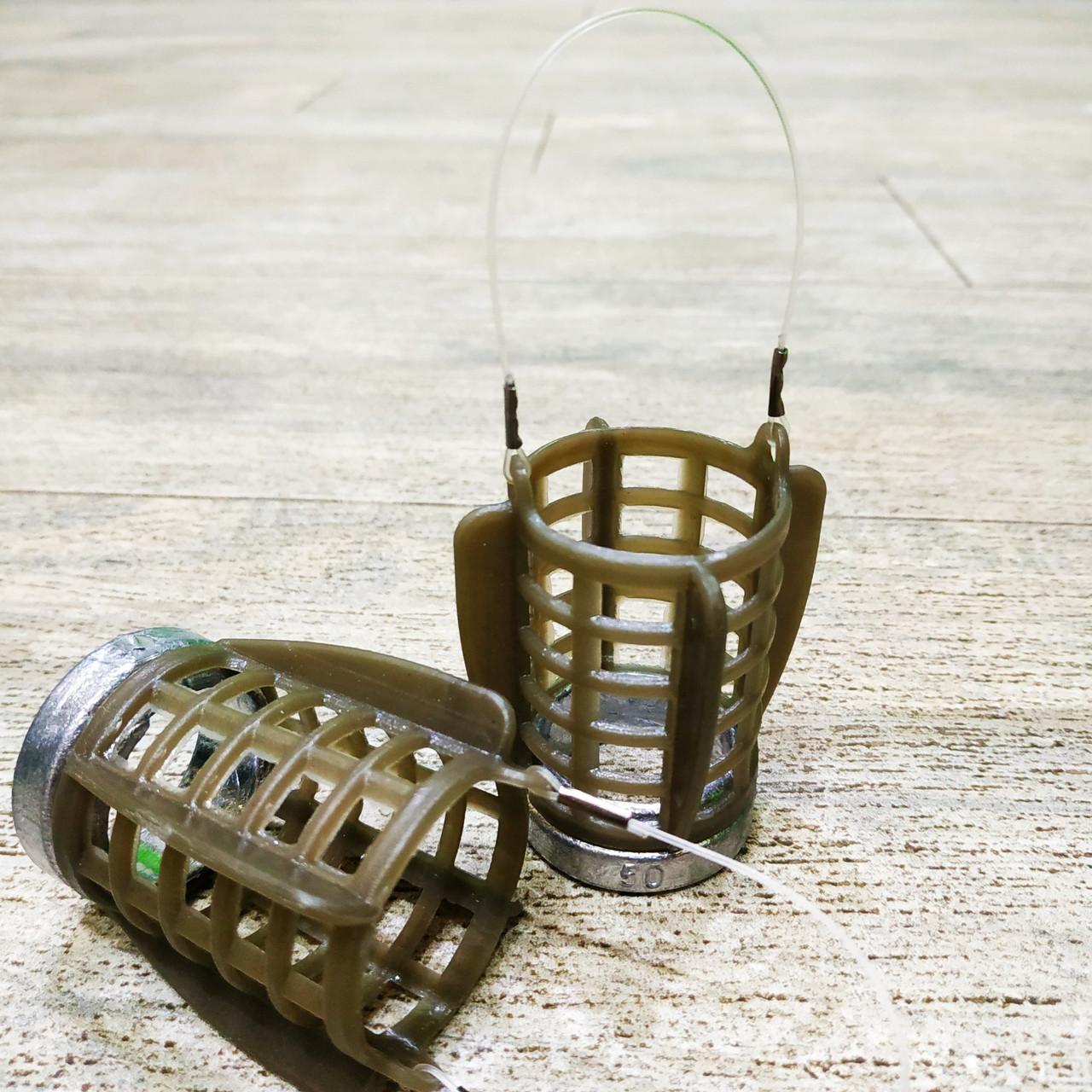 "Фидерная рыболовная кормушка ""Fider-Karp MSW"" , вес 30 грамм"