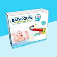 Детская игрушка для купания на присосках - лабиринт и уточка, игра для ванной