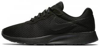 Кроссовки Nike Tanjun Black Черные женские