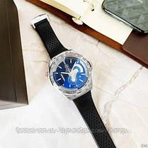 Годинники чоловічі наручні Tag Heuer Grand Carrera Calibre 36 quartz Chronograph / репліка ААА класу / відеоогляд, фото 3