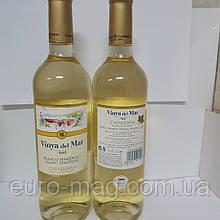 Вино белое полусладкое Vina del Mar Blanco SemiDulce D.O. Catalunya