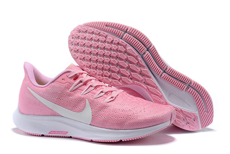 Кроссовки Nike Air Zoom Pegasus 36 Dark Pink white Womens Running Shoes AQ2210-600 розовые женские