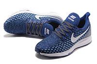 Кроссовки Nike Air Zoom Pegasus 35 Men's Running Shoes Blue White 728857-005 синие мужские