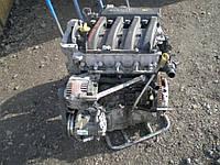 Б/у Двигатель Renault Kangoo 1.6 бензин 2008-2015