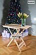 Кофейный столик, раскладной. Стол складной для балкона, прихожей, пикника и дачи., фото 5