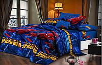 """Комплект детского постельного белья из ранфорса """"Человек Паук"""""""