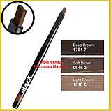 Моделирующий карандаш скульптор для бровей (3 оттенка) Avon Mark 0.28 г, Темно-Коричневый/Deep Brown, фото 2