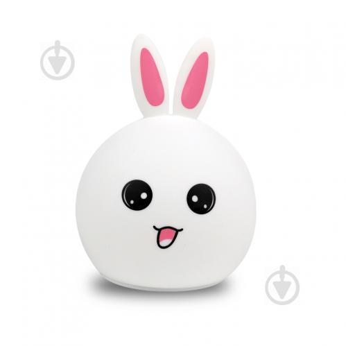 Ночник LightMaster силиконовый SNL-R03 Кролик RGB белый
