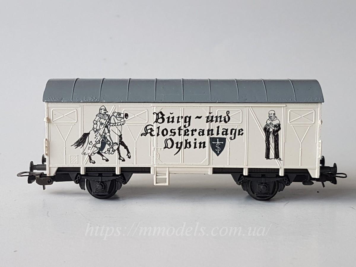 Roco модель 2х осного крытого вагона, масштаба H0, 1:87