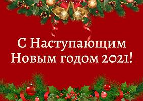Поздравляем с Новым 2021 годом !