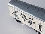 Roco модель 2х осного крытого вагона, масштаба H0, 1:87, фото 2