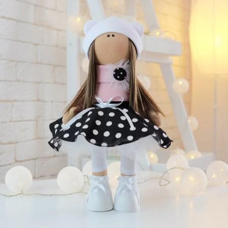 Текстильная куколка ручной работы ❤ ЕВА