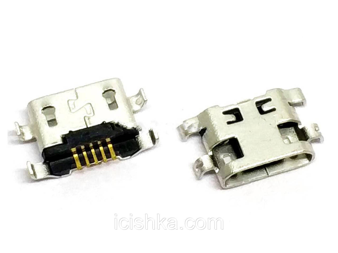 Micro USB connector #6 - коннектор зарядки (перевёртыш) HUAWEI G7 Lenovo