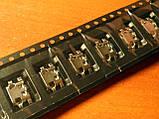 Micro USB connector #6 - коннектор зарядки (перевёртыш) HUAWEI G7 Lenovo, фото 3