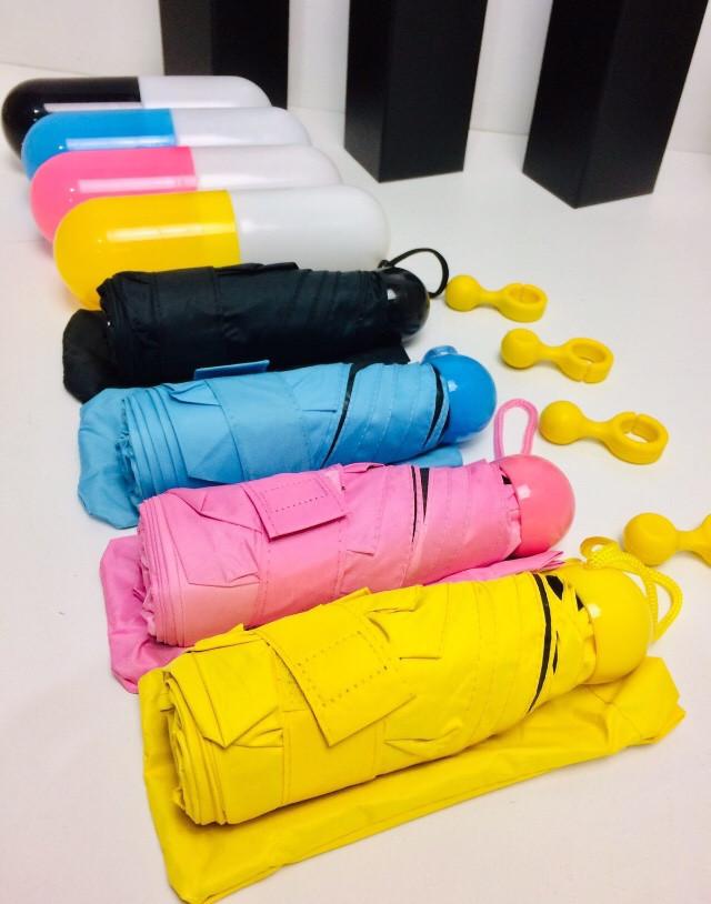 Мини зонт в капсуле ART 6752 (100 шт/ящ)