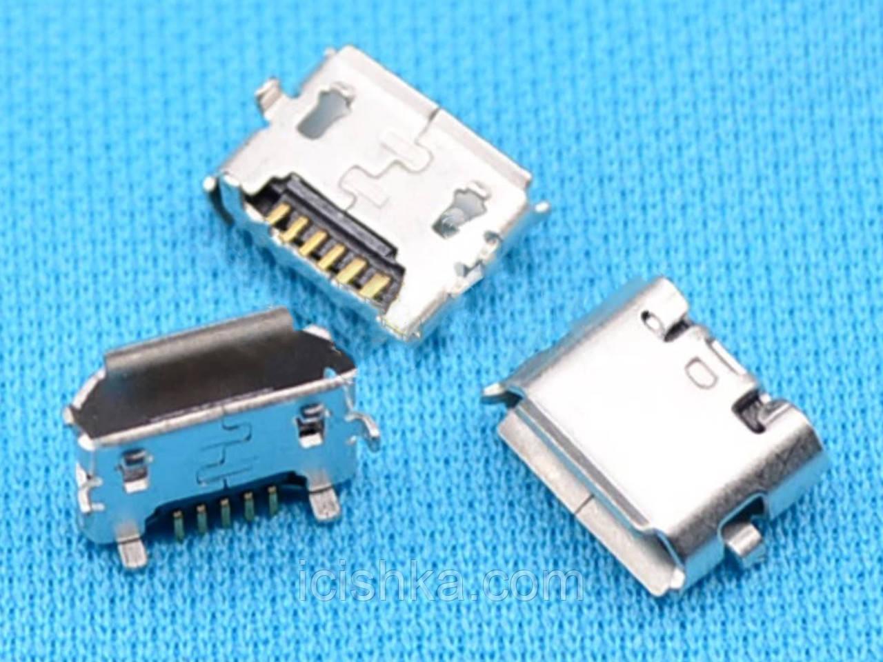 Micro USB connector #7 - коннектор зарядки (перевёртыш)