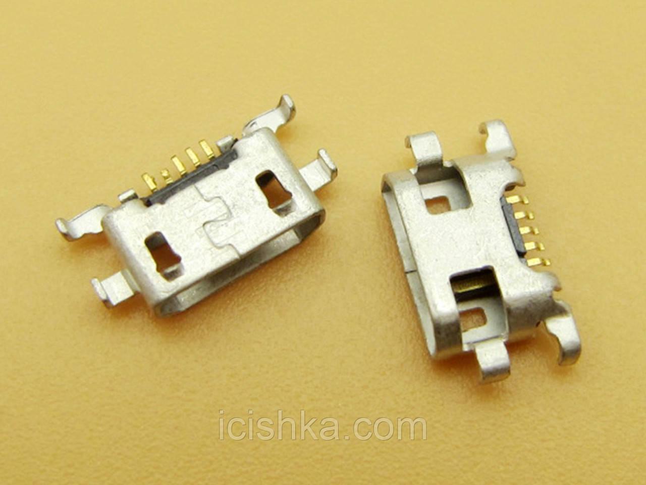 Micro USB connector #8 - коннектор зарядки (перевёртыш) lumia N625 625 N1320 1320
