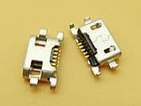 Micro USB connector #8 - коннектор зарядки (перевёртыш) lumia N625 625 N1320 1320, фото 2