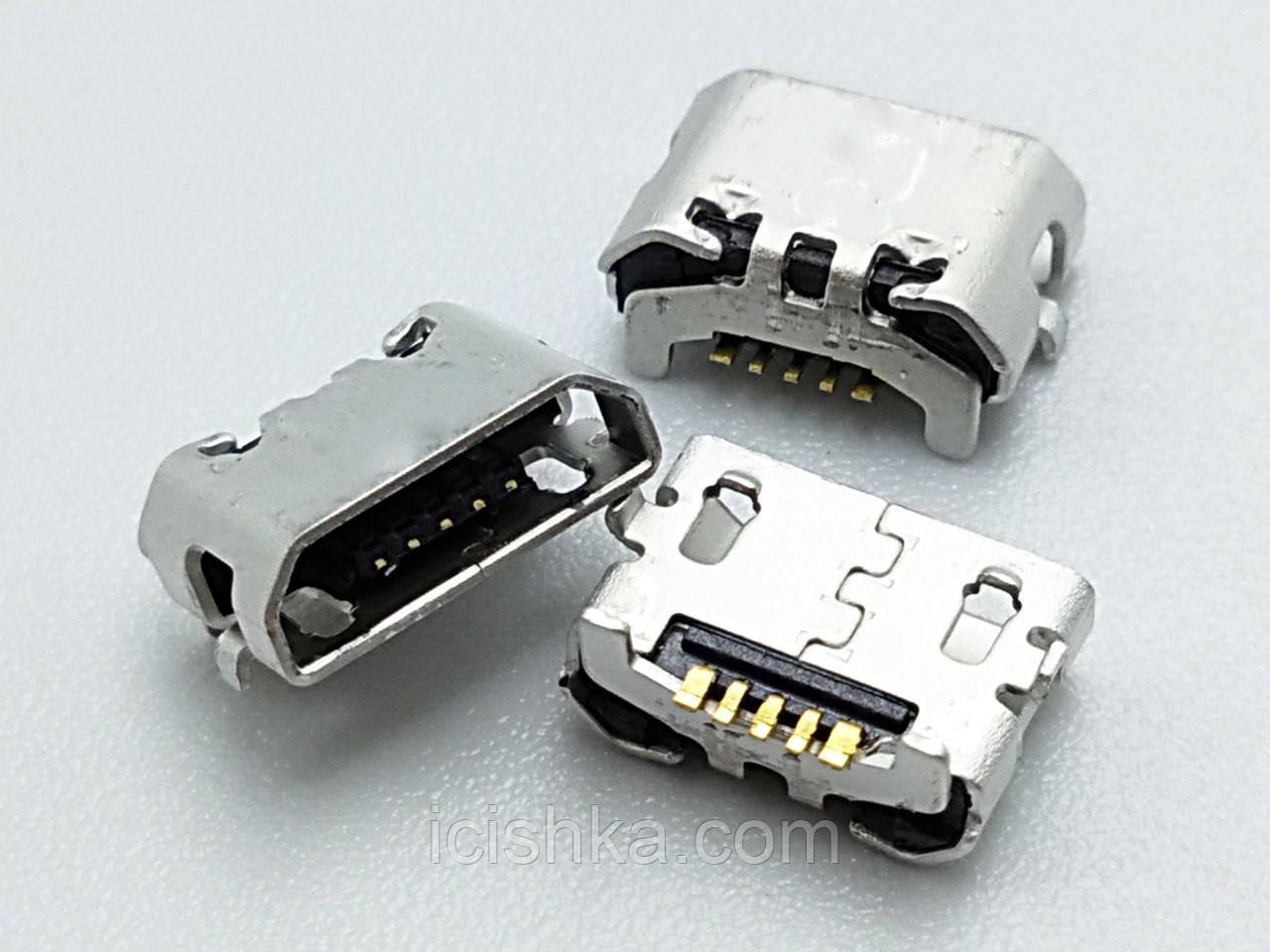 Micro USB connector #10 - коннектор зарядки (перевёртыш) Huawei Ascend 4X Y6 4A P8 C8817 P8 max P8 Lite 4C 3X