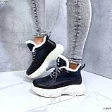 Женские кроссовки на меху 13666, фото 2