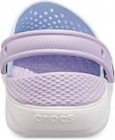 Детские кроксы Crocs Literide Kids голубые С10/ 17,0 – 17,5 см, фото 4