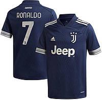 Футбольная форма Ювентус Роналдо (FC Juventus Ronaldo) 2020-2021 Гостевая