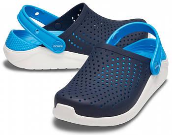 Кроксы детские Crocs Literide Kids синие С10/ 17,0 – 17,5 см